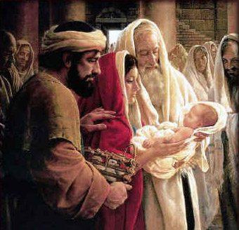 Isus - nadijevanje imena i obrezanje