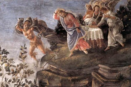 Isus iskušavan u pustinji