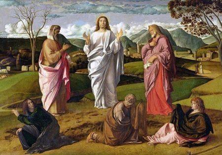 Preobraženje Gospodinovo - Giovanni Bellini