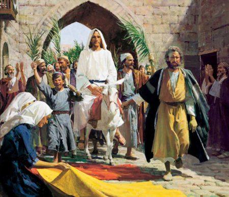 Cvjetnica 2017. - Isus ulazi u Jeruzalem