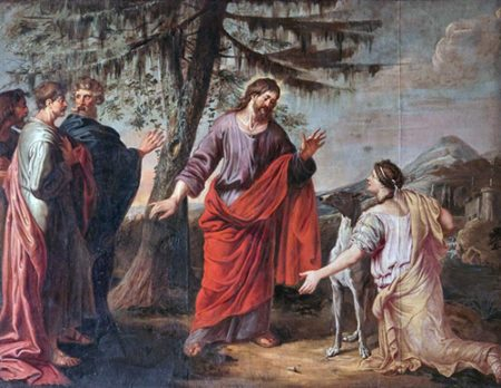 Kanaanka moli Isusa