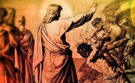 Isus izgoni đavla
