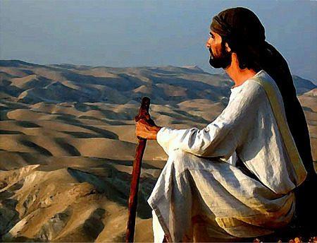 Isus u pustinji
