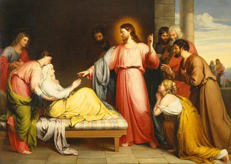 Ozdravljenje Petrove punice