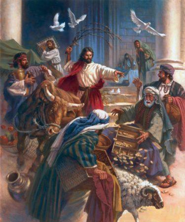Isus izgoni trgovce iz Hrama