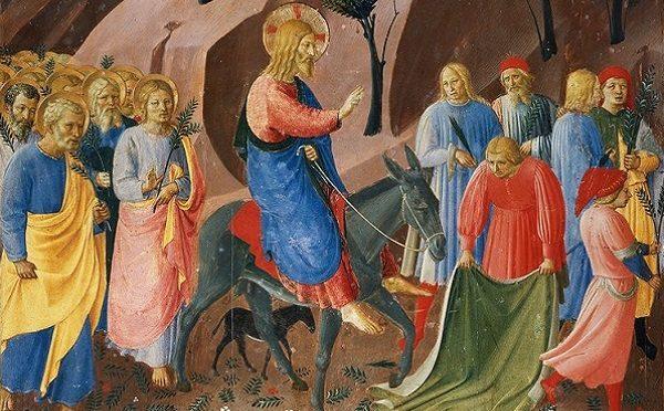 Cvjetnica - Isusov ulazak u Jeruzalem