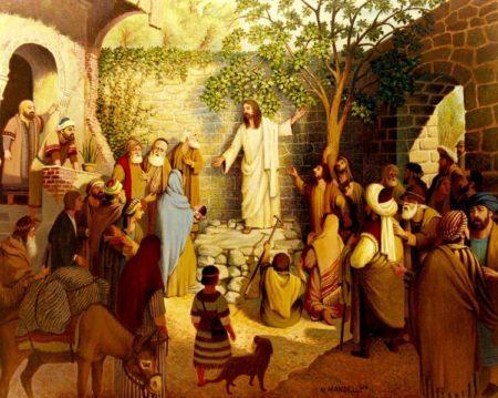 Isus naučava
