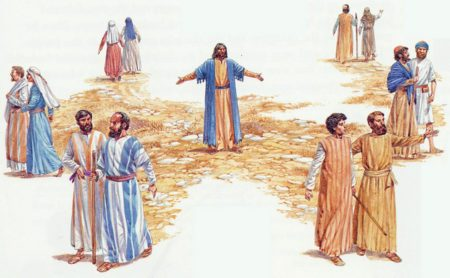 Isus šalje apostole