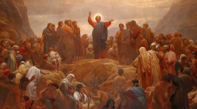 Isus naučava na ravni