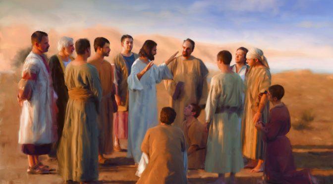 Isus i apostoli 2019.