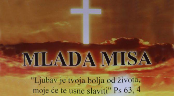 Mlada misa - vlč. Majk Rušec