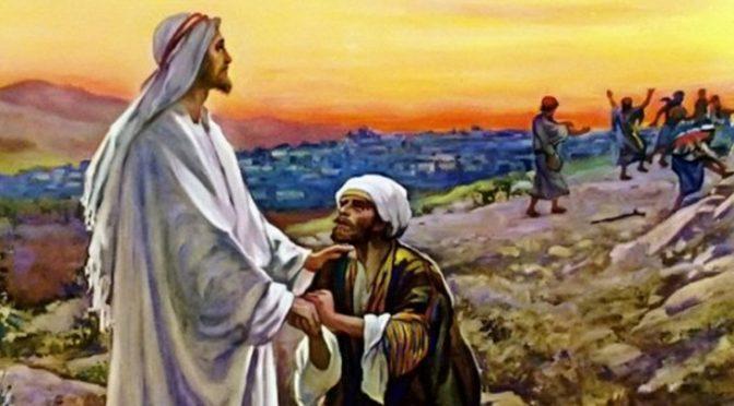 Isus i zahvalni gubavac