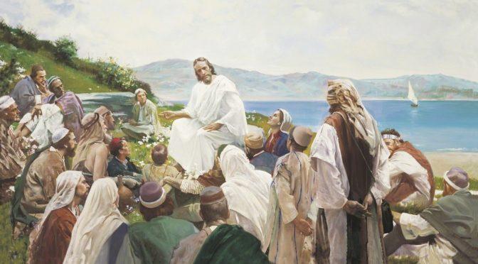 Isus poučava narod