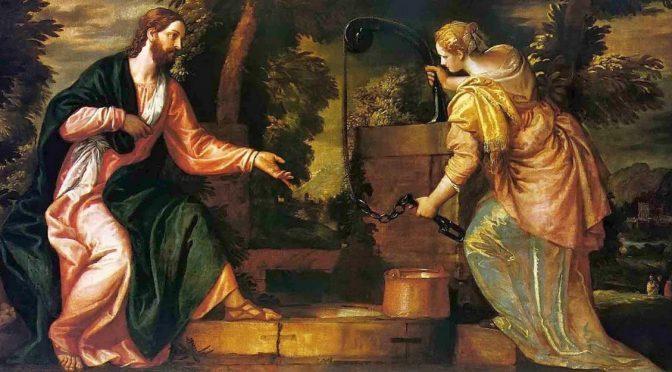 Isus i Samarijanka - Veronese