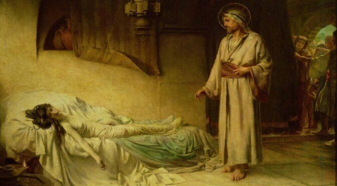 Isus i Jairova kći